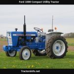 Ford 1000 Tractor Specs, Price, Review