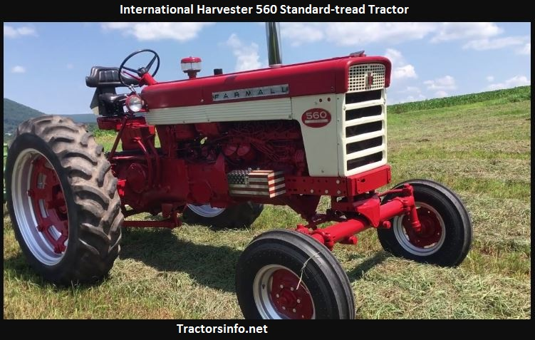 International Harvester 560 Horsepower, Price, Specs, Review