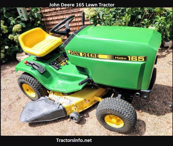 John Deere 165 Price, Specs, Review, Attachments