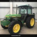 John Deere 2650 HP, Price, Specs, Weight, Review