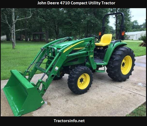 John Deere 4710 Price, Specs, Weight, Review