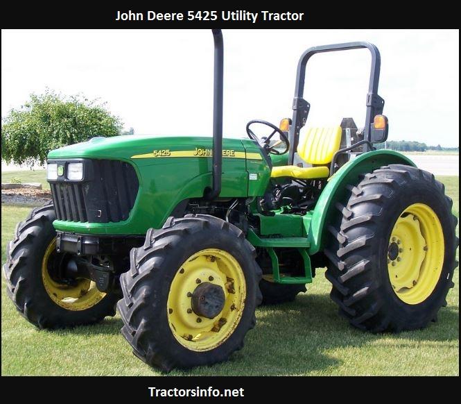 John Deere 5425 Price New, Specs, Height, Reviews