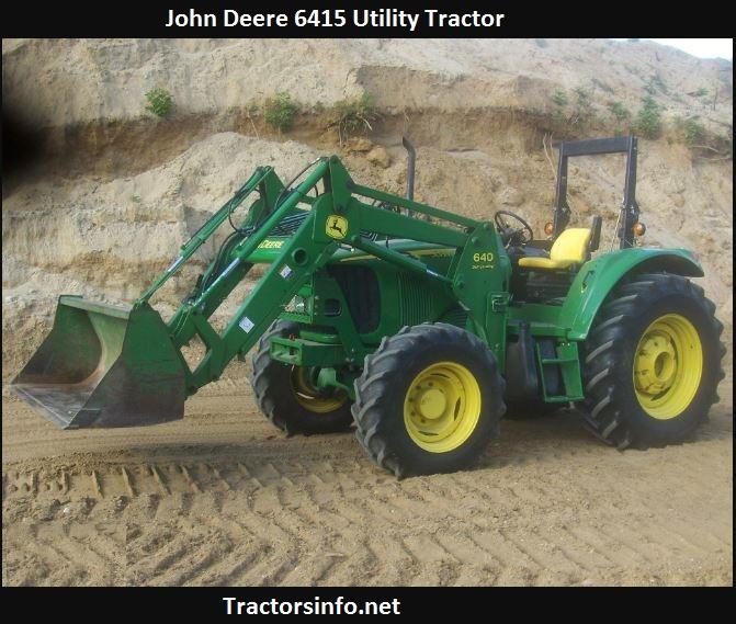 John Deere 6415 Horsepower, Price, Specs, Oil Capacity, Reviews