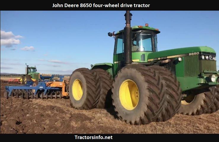 John Deere 8650 Price, Specs, Review, History