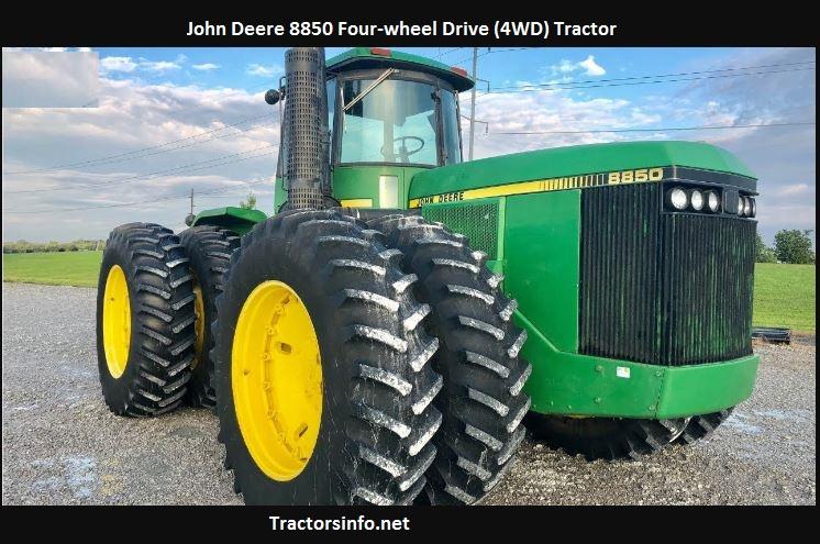 John Deere 8850 Horsepower Price Specs Review