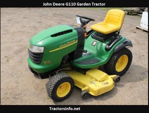 John Deere G110 Price, Specs, Review, Attachments