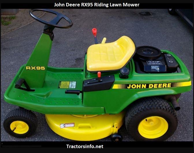 John Deere RX95 Specs, Price, Review, Attachments