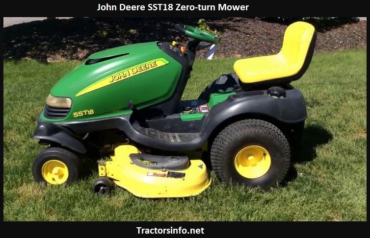 John Deere SST18 Price New, Specs, Review