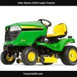 John Deere X324 Price, Specs, Oil Capacity, Attachments