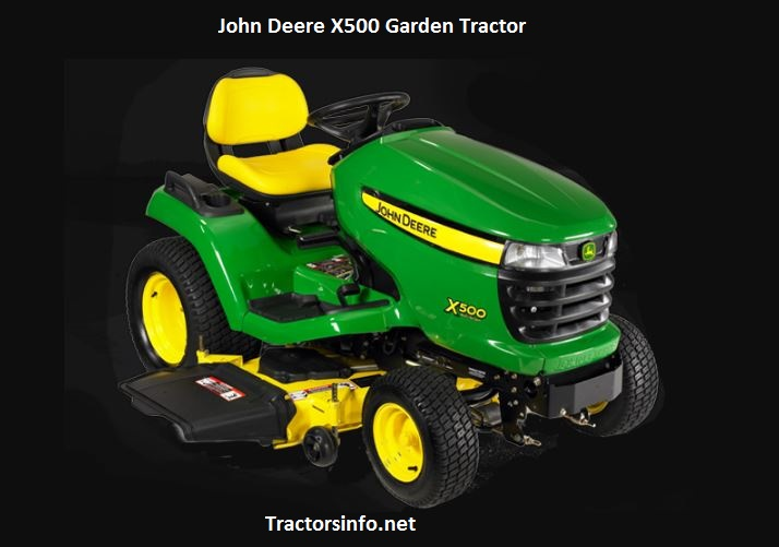 John Deere X500 Price, Specs, Reviews, Attachments