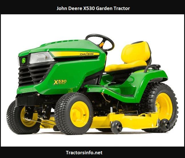 John Deere X530 Price, Specs, Review, Attachments