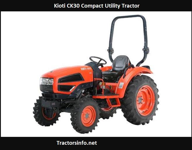 Kioti CK30 Price, Specs, Review, Attachments