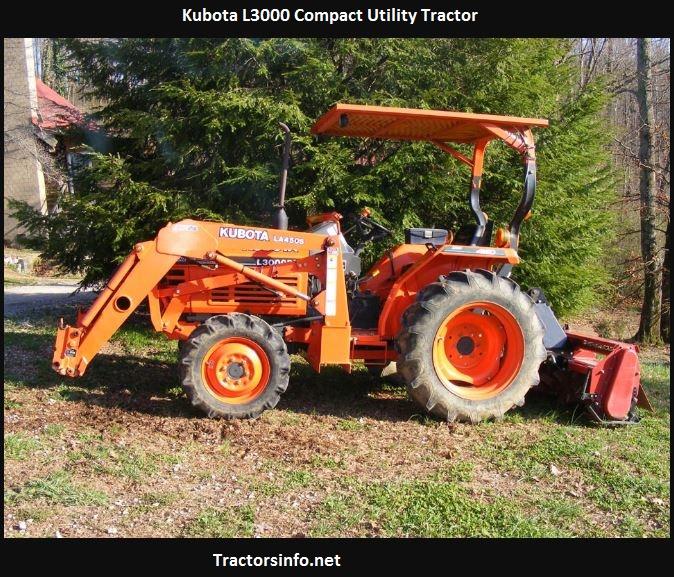 Kubota L3000 Price, Specs, Reviews, Attachments
