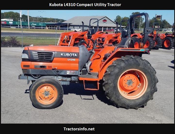 Kubota L4310 Price, Specs, Weight, Reviews