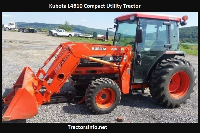 Kubota L4610 Price, Specs, Reviews, Attachments