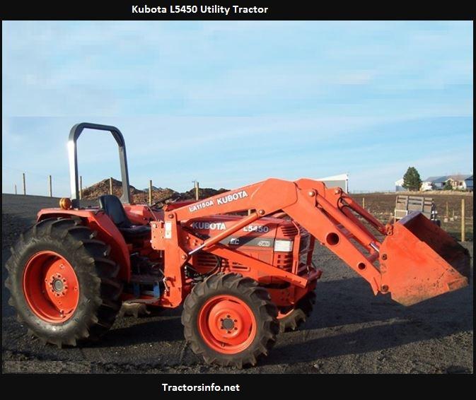 Kubota L5450 Price, Specs, Reviews, Attachments