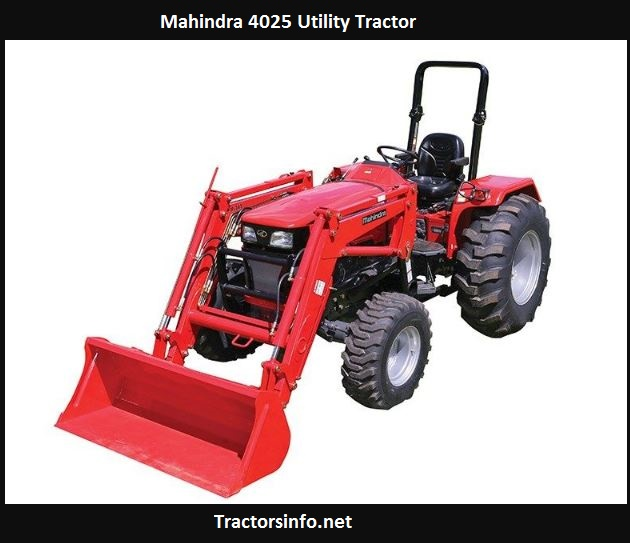 Mahindra 4025 HP, Price, Specs, Weight, Reviews