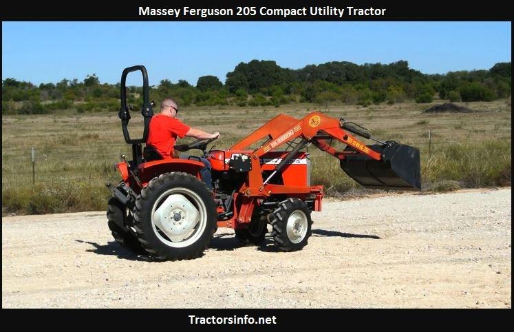 Massey Ferguson 205 Tractor Price, Specs, Reviews