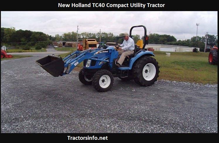 New Holland TC40 Price, Specs, Oil Capacity, Reviews