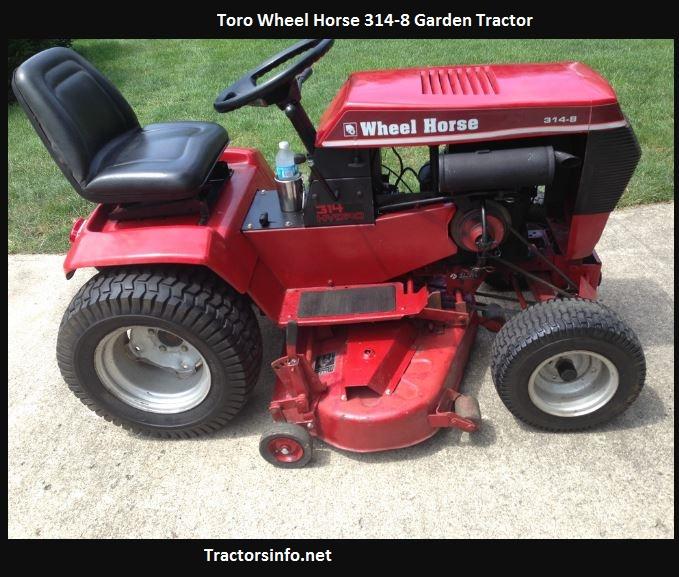 Toro Wheel Horse 314-8 Price, Specs, Review