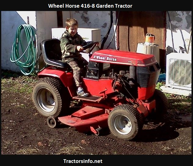 Wheel Horse 416-8 Price, Specs, Review, Attachments