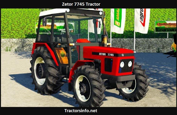 Zetor 7745 Tractor Price, Specs, Review