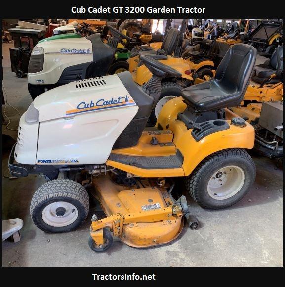 Cub Cadet GT 3200 Price, Specs, Review, Attachments