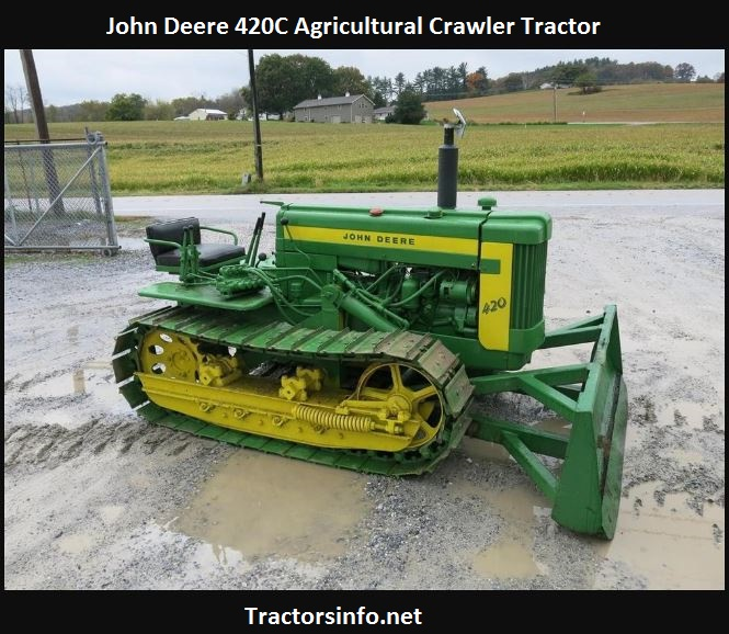 John Deere 420C Specs, Price, Review, Attachments