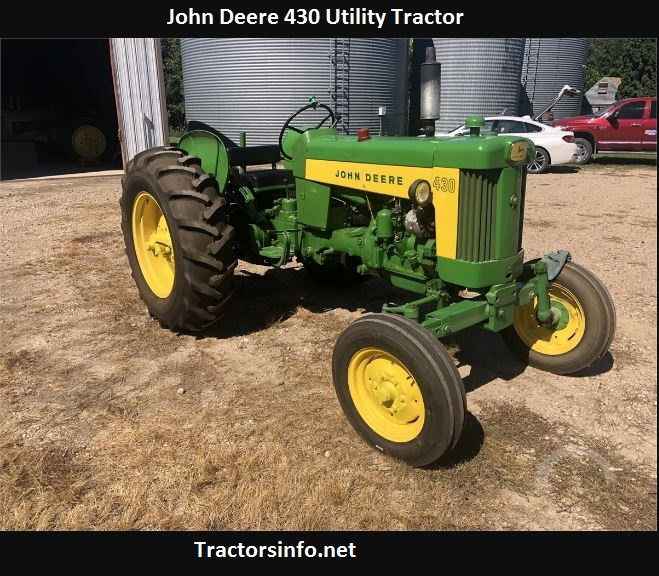 John Deere 430 Utility Tractor Price, Specs, Review, Attachments