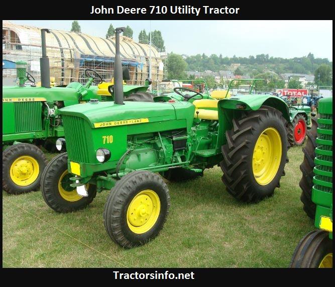 John Deere 710 Tractor Price, Specs, Reviews