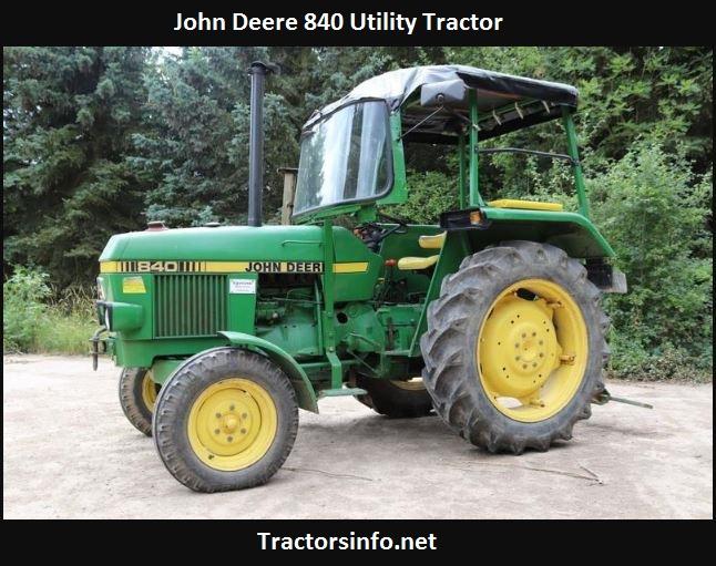 John Deere 840 Tractor Price, Specs, Review