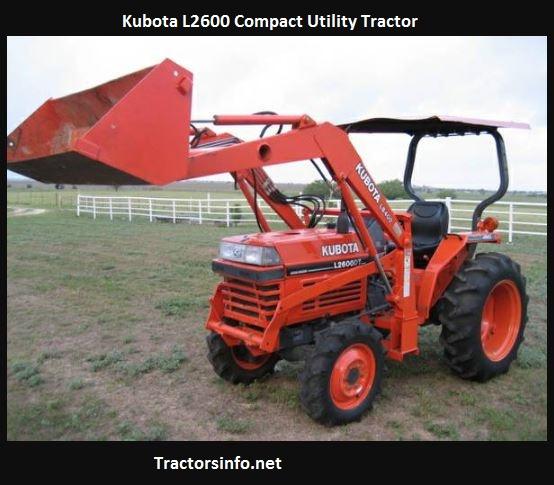 Kubota L2600 Price, Specs, Review, Attachments