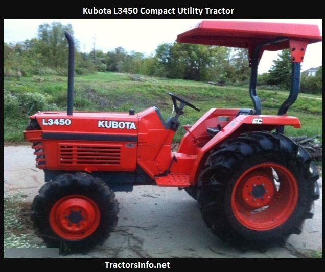 Kubota L3450 Price, Specs, HP, Review