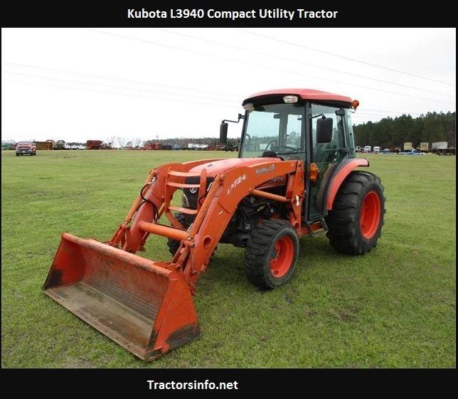 Kubota L3940 Price, Specs, Weight, Reviews