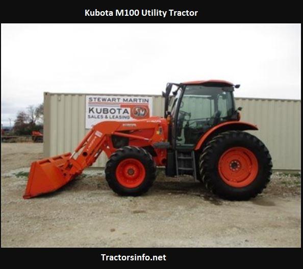 Kubota M100 Utility Tractor Specs, Price, Review
