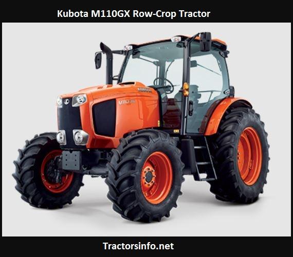 Kubota M110GX Price, Specifications, Reviews