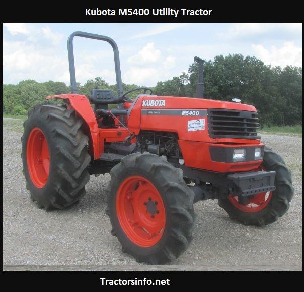 Kubota M5400 Horsepower, Price, Specs, Reviews