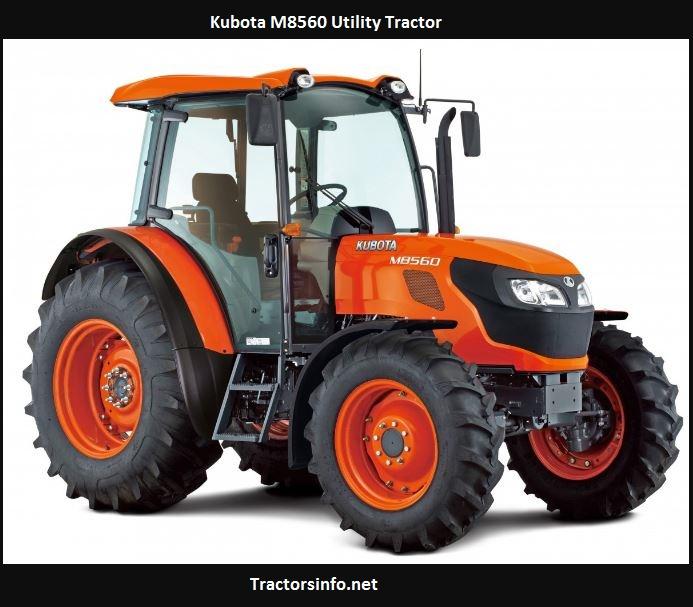 Kubota M8560 Horsepower, Price, Specs, Weight, Review