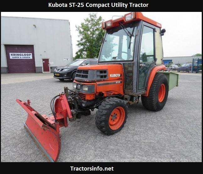 Kubota ST-25 Price, Specs, Review