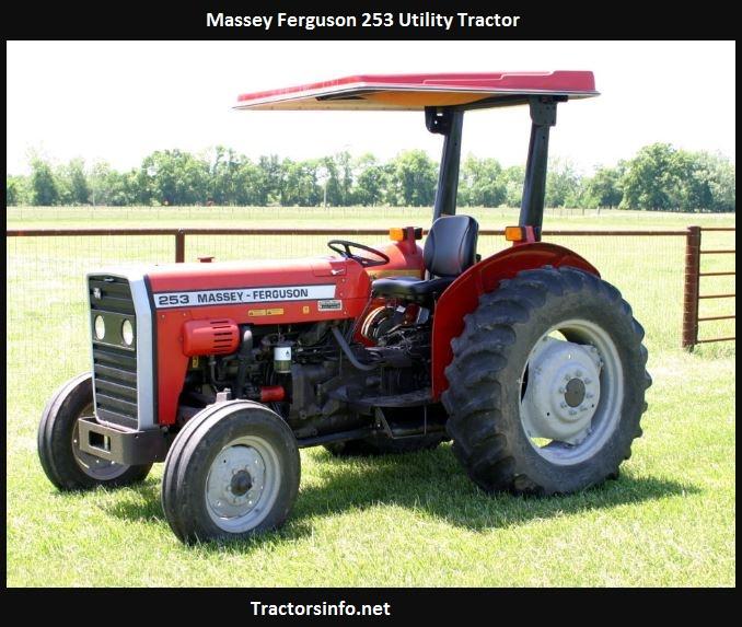 Massey Ferguson 253 Horsepower, Price, Specs, Oil Capacity