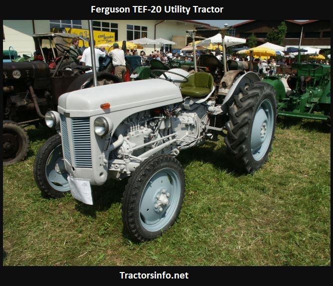 Ferguson TEF-20 Tractor Price, Specs, Review, Horsepower