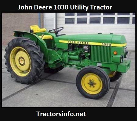 John Deere 1030 HP, Price, Specs, Review