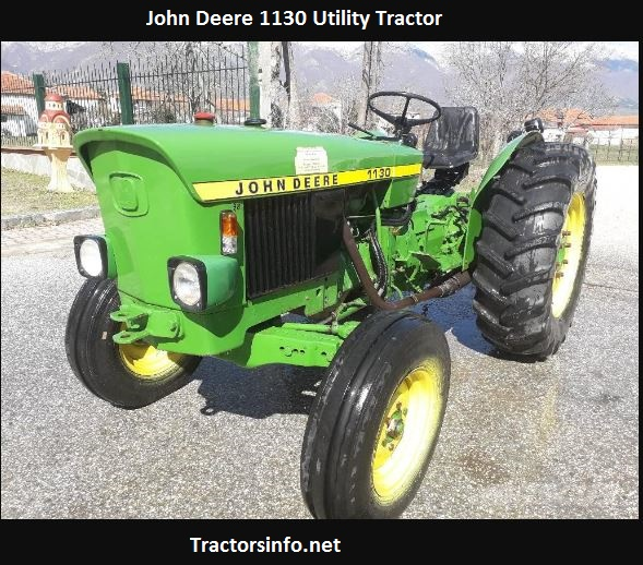 John Deere 1130 HP, Price, Specs, Review