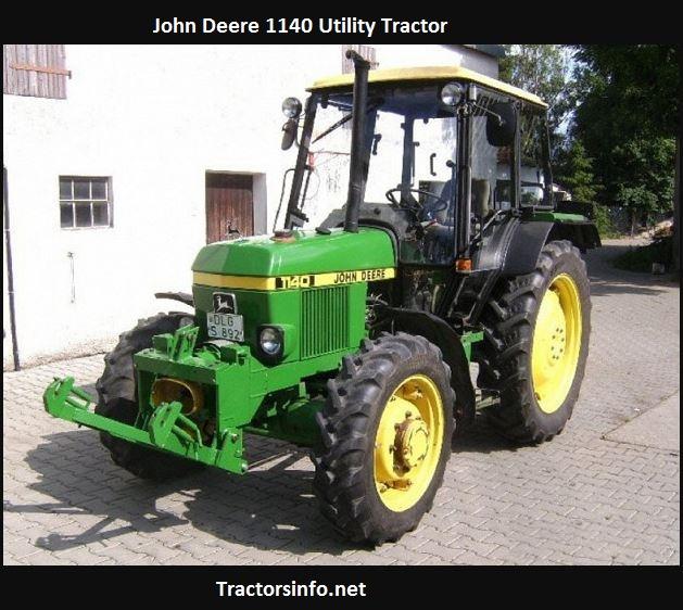John Deere 1140 Price, Specs, Review, HP