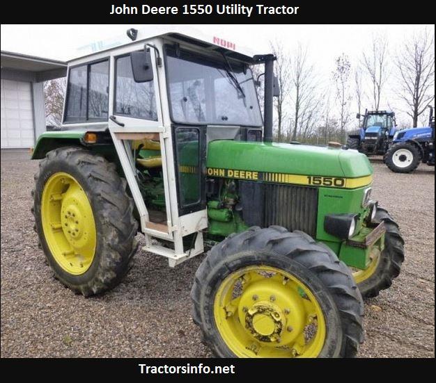 John Deere 1550 Tractor Price, Specs, Review
