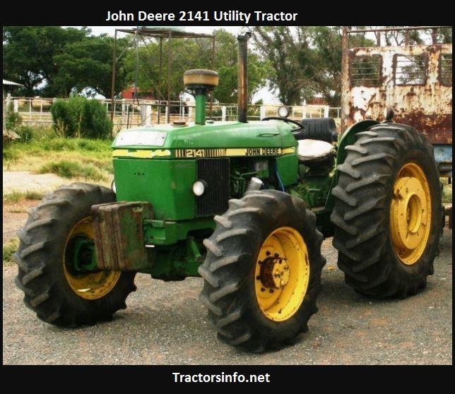 John Deere 2141 Price, Specs, Review