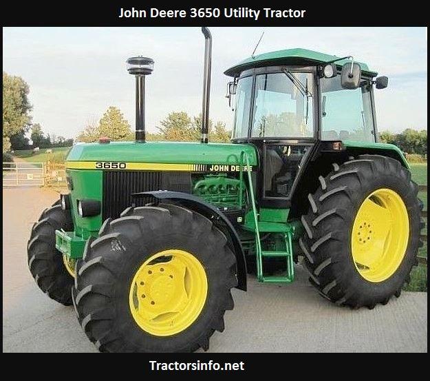 John Deere 3650 HP, Price, Specs, Review