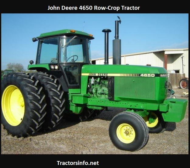 John Deere 4650 Horsepower, Price, Specs, Reviews