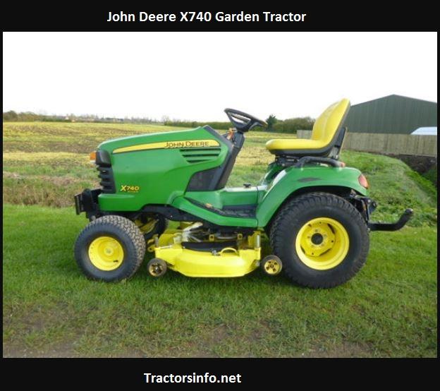 John Deere X740 Price, Specs, Reviews, Attachments