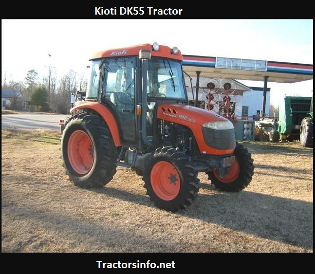 Kioti DK55 Price, Specs, Reviews, Attachments